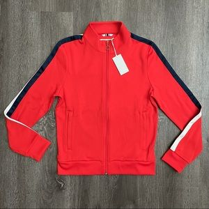 (NWT) TORY SPORT Red / Coral Track Jacket (M)